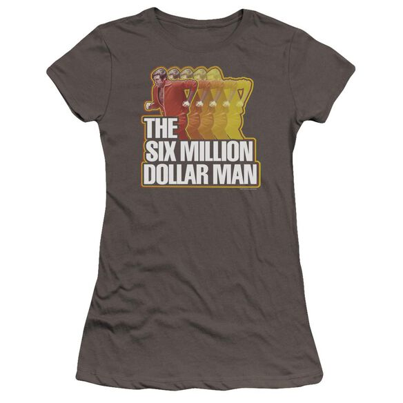 Six Million Dollar Man Run Fast Premium Bella Junior Sheer Jersey
