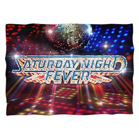 Saturday Night Fever Dance Floor (Front Back Print) Pillow Case