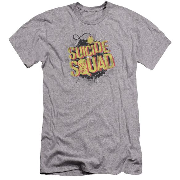 Suicide Squad Vintage Bomb Premuim Canvas Adult Slim Fit Athletic
