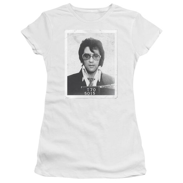 Elvis Framed Short Sleeve Junior Sheer T-Shirt