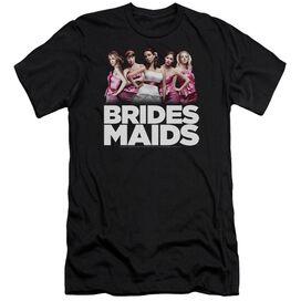 Bridesmaids Maids-premuim Canvas Adult Slim