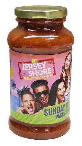 Jersey Shore Family Vacation Sunday Dinner Tomato Basil Pasta Sauce