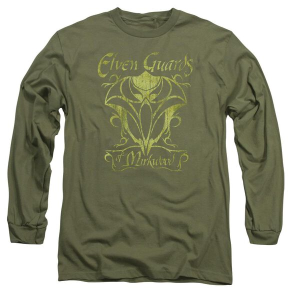 Hobbit Guards Of Mirkwood Long Sleeve Adult Military T-Shirt