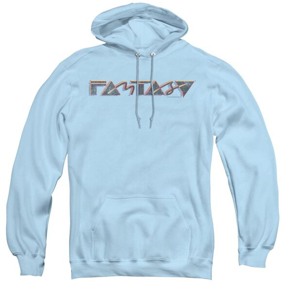 Fantasy Fantasy 80s - Adult Pull-over Hoodie - Light Blue
