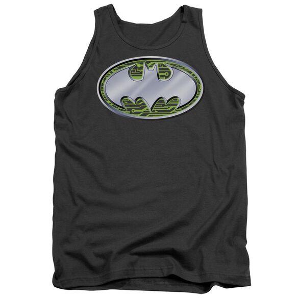 Batman Circuits Logo Adult Tank