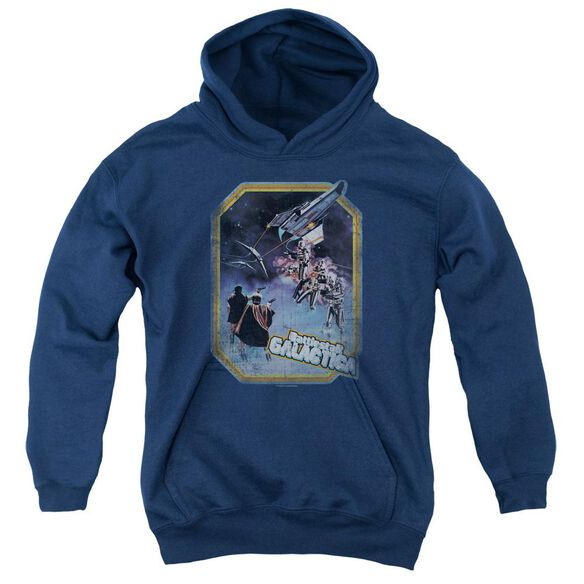 Bsg Poster Iron On Youth Pull Over Hoodie