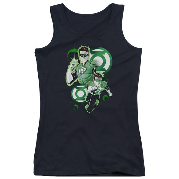 Jla Gl In Action Juniors Tank Top
