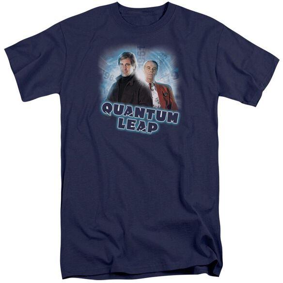 Quantum Leap Sam And Al Short Sleeve Adult Tall T-Shirt