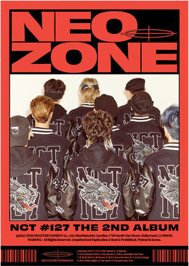 Nct 127 - The 2nd Album 'NCT #127 Neo Zone' [C Ver.]