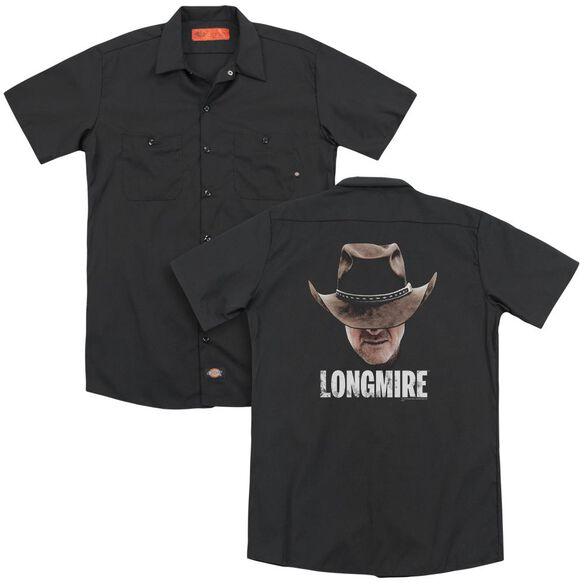 Longmire Long Haul (Back Print) Adult Work Shirt