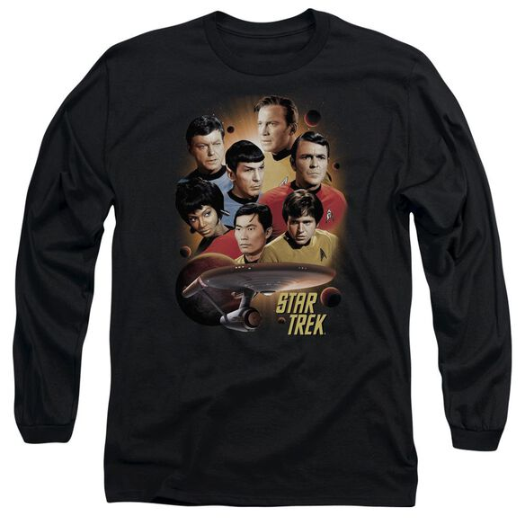 Star Trek Heart Of The Enterprise Long Sleeve Adult T-Shirt