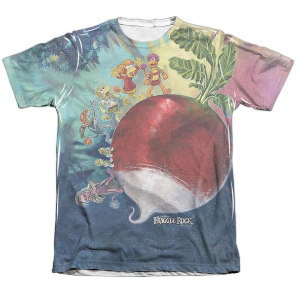 Fraggle Rock Giant Radish Adult Poly Cotton Short Sleeve Tee T-Shirt