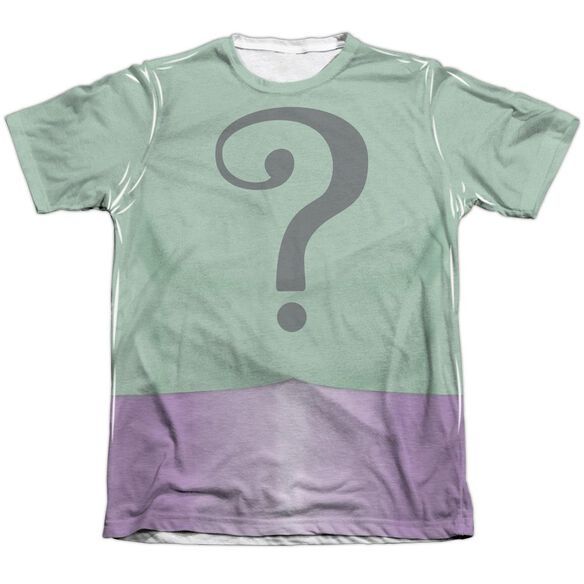 Batman Classic Tv Riddler Uniform Adult Poly Cotton Short Sleeve Tee T-Shirt