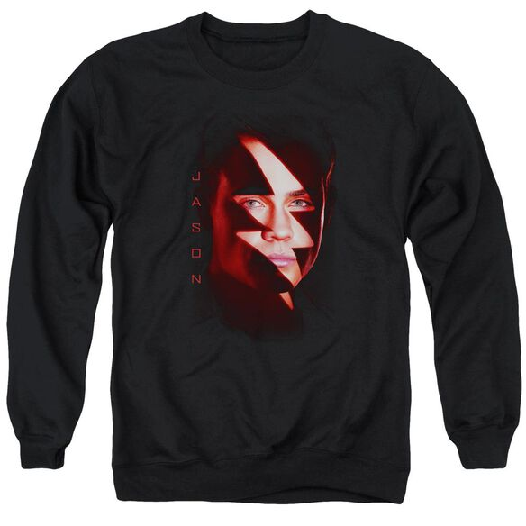 Power Rangers Jason Bolt Adult Crewneck Sweatshirt
