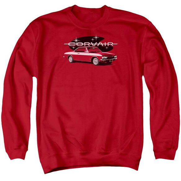 Chevrolet 65 Corvair Mona Spyda Coupe Adult Crewneck Sweatshirt