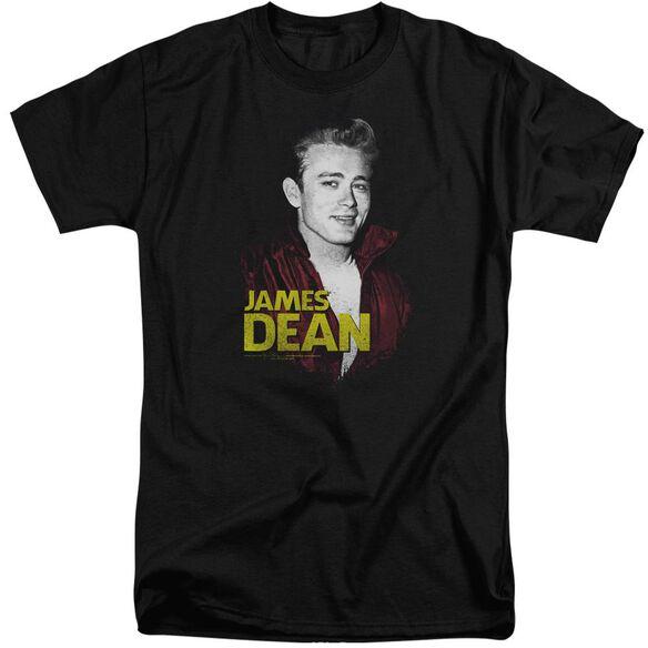 Dean Red Jacket Short Sleeve Adult Tall T-Shirt