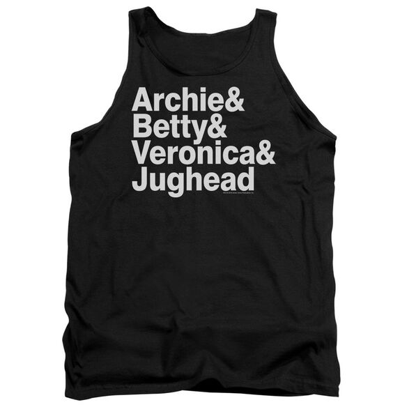 Archie Comics Ampersand List Adult Tank