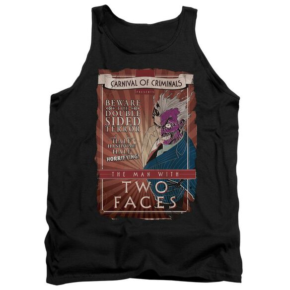 Batman Two Faces - Adult Tank - Black