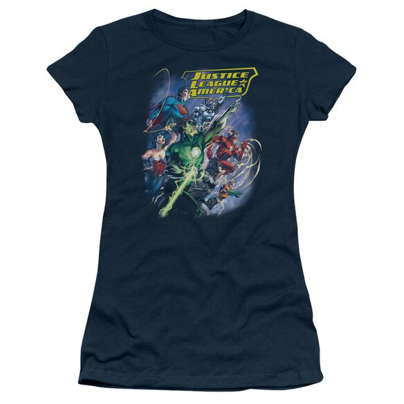 Jla Onward Short Sleeve Junior Sheer T-Shirt