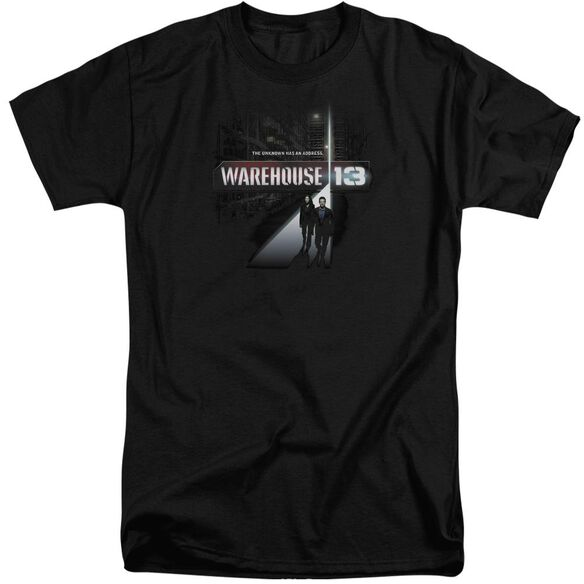 Warehouse 13 The Unknown Short Sleeve Adult Tall T-Shirt