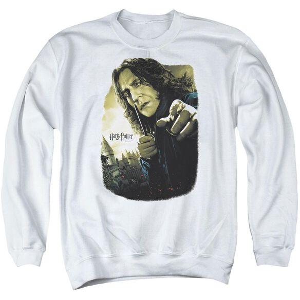 Harry Potter Snape Poster Adult Crewneck Sweatshirt