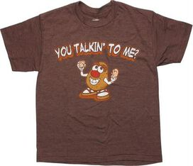 Mr Potato Head Ears Off Youth T-Shirt