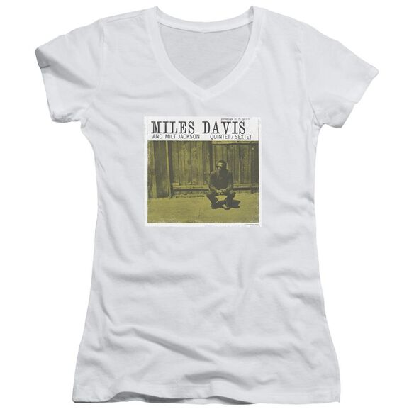 Miles Davis Miles And Milt Junior V Neck