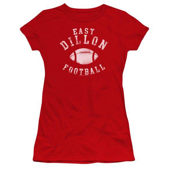 Friday Night Lights East Dillon Football Premium Bella Junior Sheer Jersey