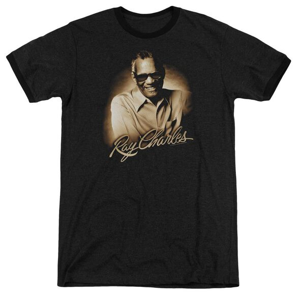 Ray Charles Sepia Adult Heather Ringer