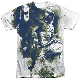 Arrow Spray Paint Short Sleeve Adult Poly Crew T-Shirt