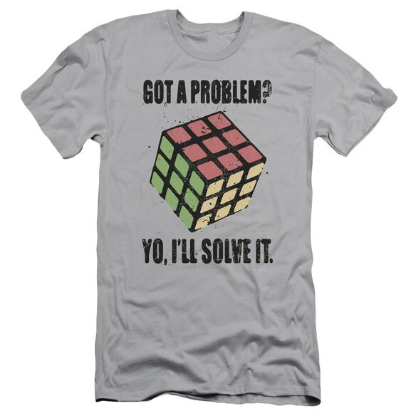 Rubik's Cube Problem Solver Short Sleeve Adult T-Shirt