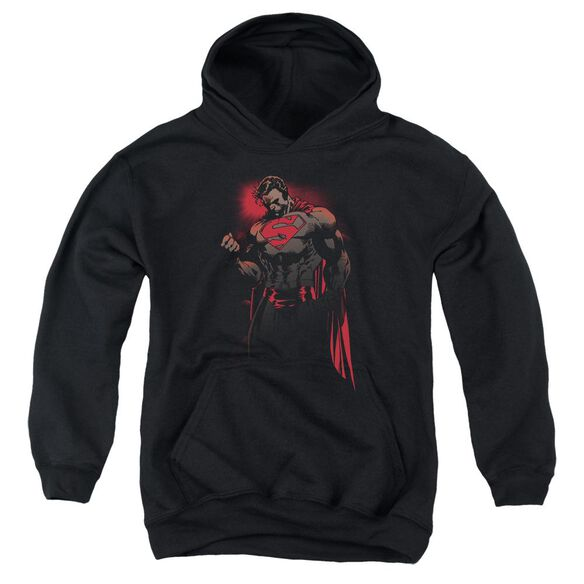 Superman Red Son Youth Pull Over Hoodie