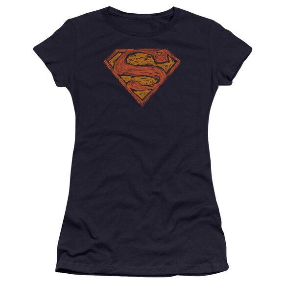 Superman Messy S Premium Bella Junior Sheer Jersey