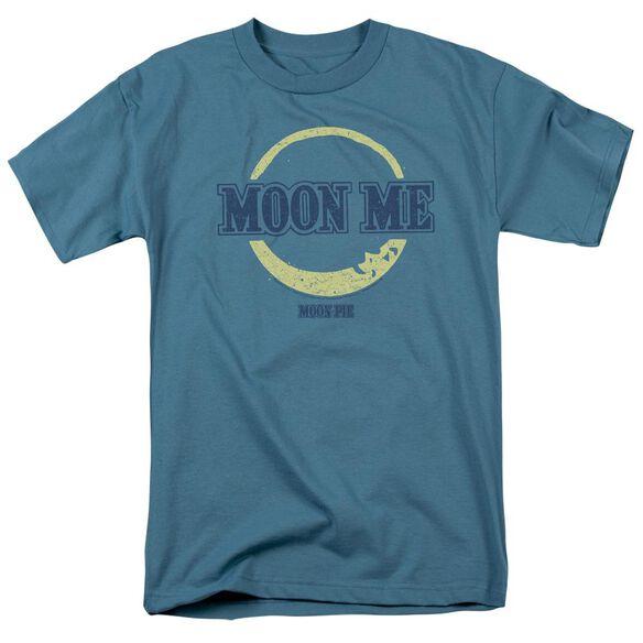Moon Pie Moon Me Short Sleeve Adult Slate T-Shirt