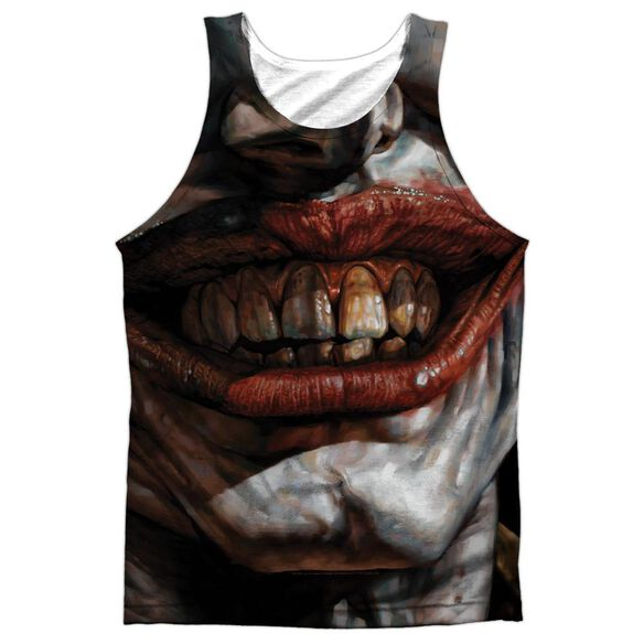 Batman Asylum Adult 100% Poly Tank Top