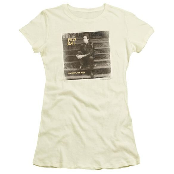 Billy Joel An Innocent Man Short Sleeve Junior Sheer T-Shirt