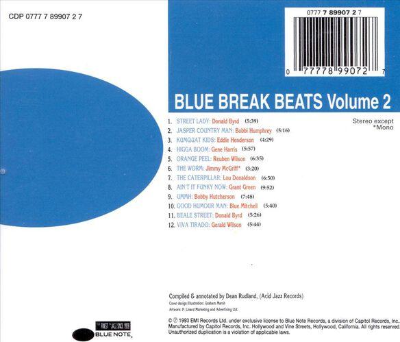 Blue Break Beats Vol 0694