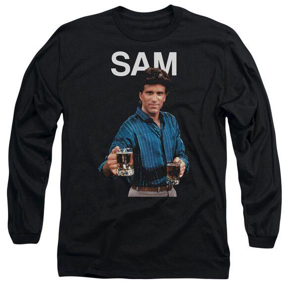 Cheers Sam Long Sleeve Adult T-Shirt