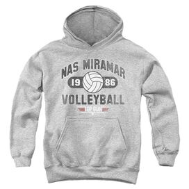 Top Gun Nas Miramar Volleyball-youth Pull-over Hoodie