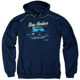 Dexter Moonlight Fishing Adult Pull Over Hoodie