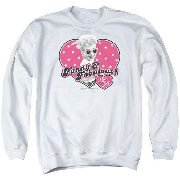Lucy Funny & Fabulous Adult Crewneck Sweatshirt