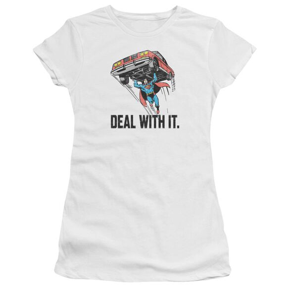 Dco Deal With It Short Sleeve Junior Sheer T-Shirt