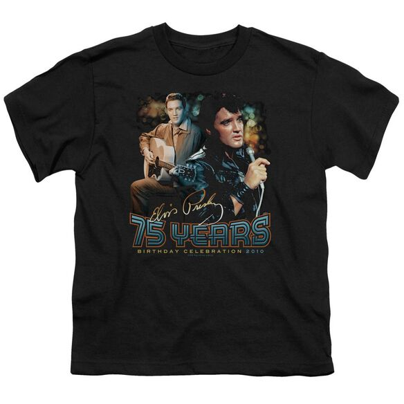 Elvis 75 Years Short Sleeve Youth T-Shirt
