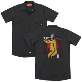 Kill Bill Surrounded (Back Print) Adult Work Shirt