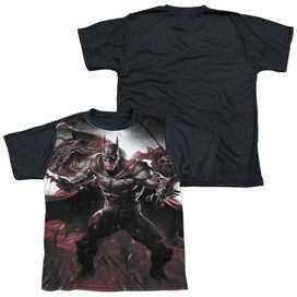 Infinite Crisis Ic Batman Short Sleeve Youth Front Black Back T-Shirt