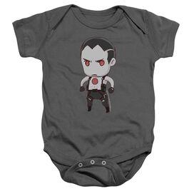 Bloodshot Chibi Infant Snapsuit Charcoal