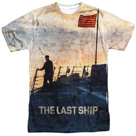 Last Ship Searching Short Sleeve Adult Poly Crew T-Shirt