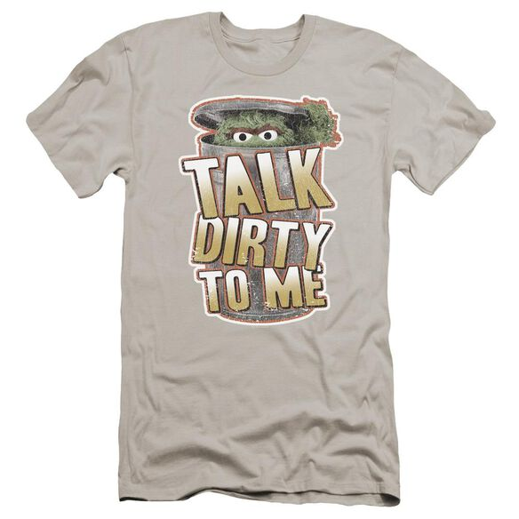 Sesame Street Talk Dirty To Me Premuim Canvas Adult Slim Fit
