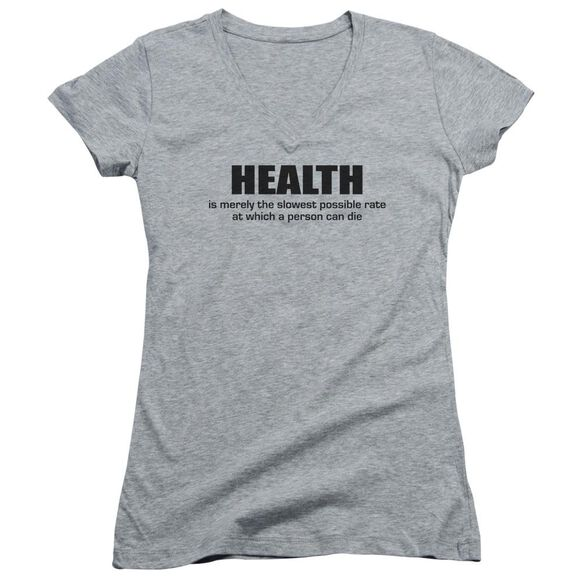 Health Junior V Neck Athletic T-Shirt