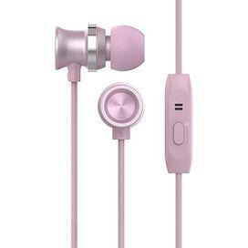 HyperGear Headphone 3.5mm In-Ear Headset with Mic Earphone (Rose Gold)